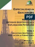 Manual Del Participante Registros Geofísicos PRELIMINAR