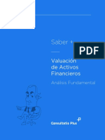 Valuacion de Activos Financieros Analisis Fundamental