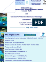 FP7 CURE project and LabUST achievements