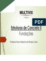 Aula 1 - Estruturas de Conceto II - Introdução à Sapatas
