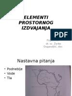T-3 Elementi Prostornog Izdvajanja
