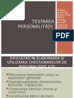 2. Testare Cp