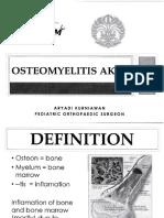 15. Osteomielitis