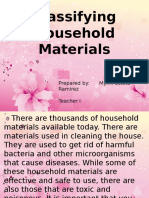 Classifying Household Materials