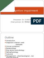 Mild Cognitive Impairment Outline (2)