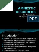 Amnestic Disorders
