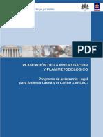 PLANEACIÓN y Investigacion Del Progrma Metodologico