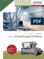 hitachi  centrifugal chillers