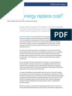 Can Bioenergy Replace Coal