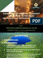 Kewaspadaan Nasional Terhadap Kebakaran