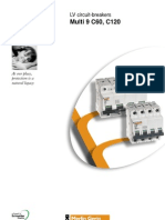 Multi9 Miniature Circuit Breakers - Brochure