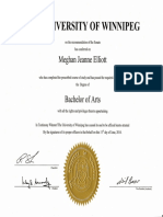 degrees and teaching certificate