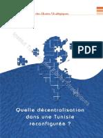 Quelle décentralisation dans une Tunisie reconfigurée ?