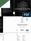 Consentino, O. La Puesta en Escena en El Teatro Argentino Del Bicentenario