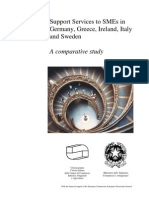 Support Services to SMEs in Germany, Greece, Ireland, Italy and Sweden - A Comparative Study