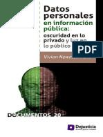 Datos personales en la información pública
