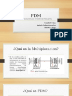 FDM. Multiplexacion por divisio de frecuencia