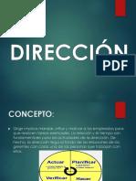 2. Direccion