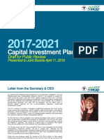 Draft capital improvement plan
