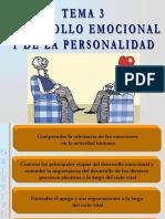 Tema 3. Desarrollo Emocional y de La Personalidad