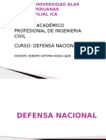 La Defensa Nacional