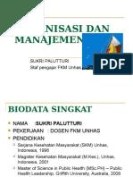 Organisasi Dan Manajemen Unhas