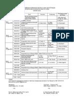 Jadwal Orientasi Ko-As Tgl 10 - 14 Agustus 2015