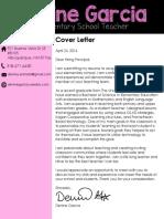resume coverletter