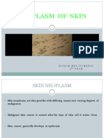 Neoplasm of Skin