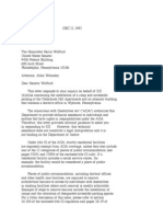 US Department of Justice Civil Rights Division - Letter - tal247