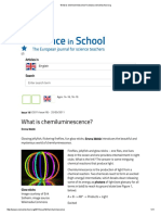 Chemiluminescence Indepth Article