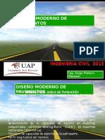 Diseño moderno de pavimentos