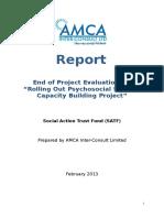 Satf Final Report Evaluation