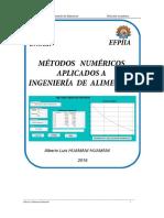 Capitulo Solucion  de metodos Numerica