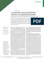 The Parietal Cortex and Episodic
