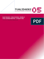 Cibertextualidades  Drucker