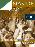 Espinas de Papel (Novela en Esp - Leticia Quinones Pons