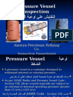 Pressure Vessel Inspection