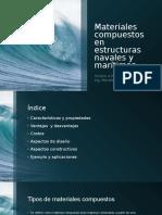 Materiales Compuestos en Estructuras Navales y Marítimas