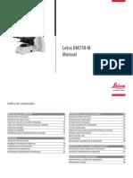 Manual Leica DM750M