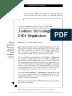 assistivetech and idea regs