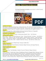 Statewise Fairs_Festivals in India 2015