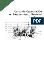 Curso de Mejoramiento Genetico en Ovinos