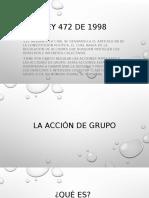 Accion de Grupo Exposicion.