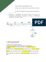 Soluciones de Los Problemas Del Libro de Tecnologia de 1 y Posibles Evaluaciones y Actividades