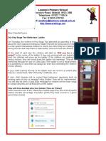 KS2 Behaviour Newsletter