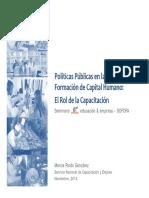Politicas Publicas en La Formacion de Capital Humano_MarciaPardo