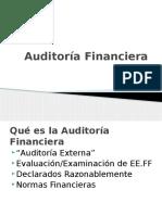 Aditoría Financiera