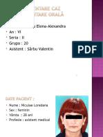 Prezentare Caz 1- Ro - Voicu Elena Alexandra.g20,s2,An6