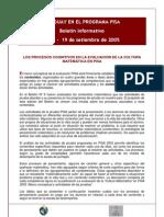ELABORACCIÓN DE REACTIVOS TIPO PISA